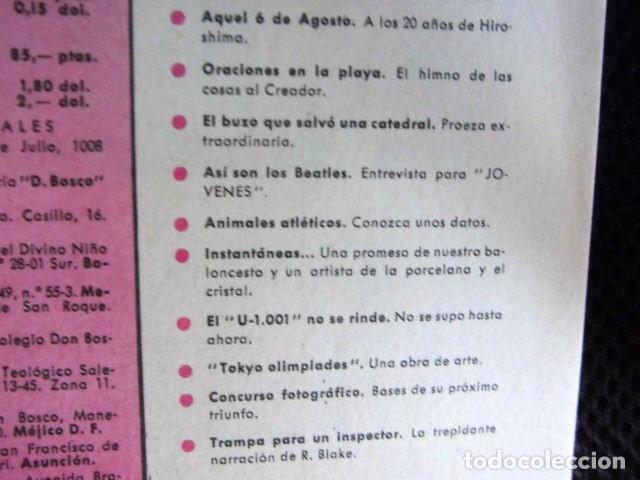 Revistas de música: BEATLES REVISTA ORIGINAL EN ESPAÑA JULIO 1965 JOVENES RARO - Foto 4 - 143715398