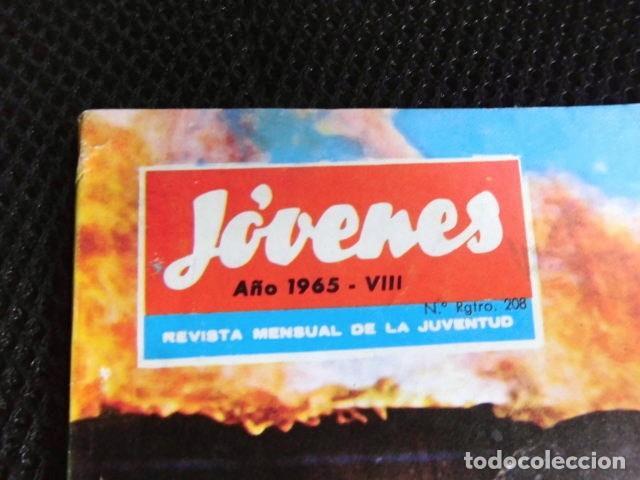 Revistas de música: BEATLES REVISTA ORIGINAL EN ESPAÑA JULIO 1965 JOVENES RARO - Foto 6 - 143715398