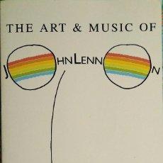 Revistas de música: LIBRO ''THE ART & MUSIC OF JOHN LENNON'' (1993) - BEATLES. Lote 143851922