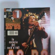 Revistas de música: REVISTA POPULAR 1 Nº 202 ESPECIAL AC/DC (INCLUYE POSTER DESPLEGABLE). Lote 144237778