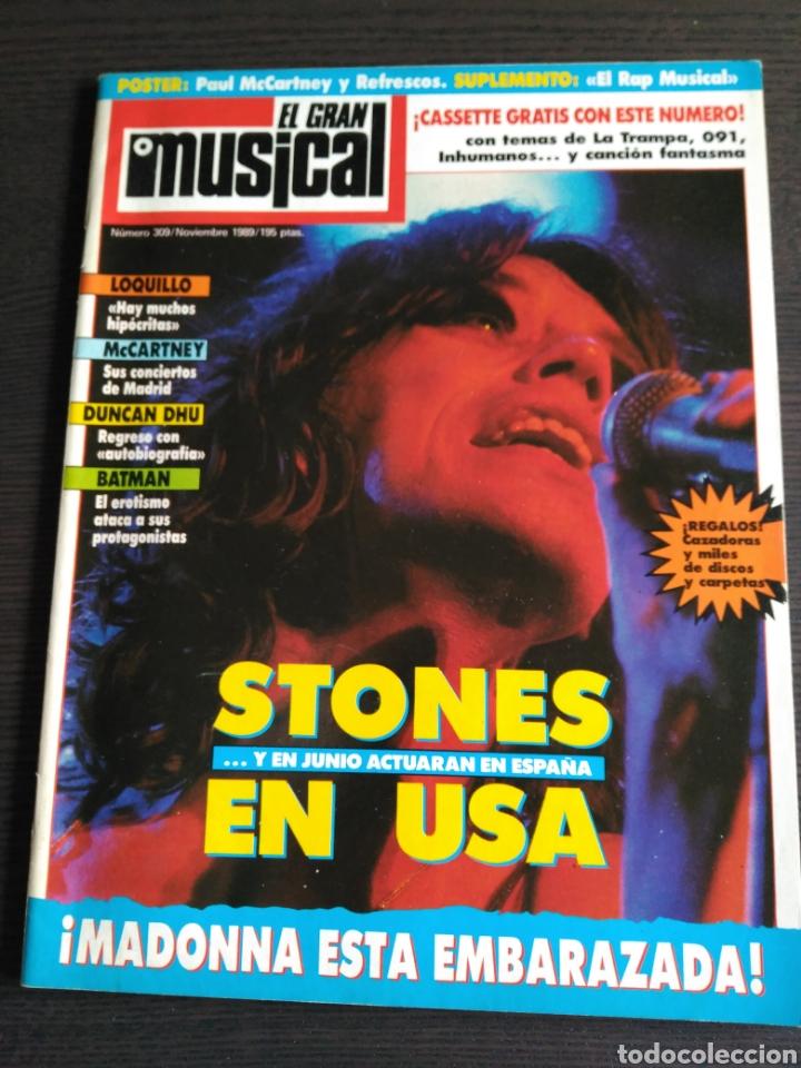 EL GRAN MUSICAL 309. MADONNA. TINA TURNER. THE ROLLING STONES. (Música - Revistas, Manuales y Cursos)