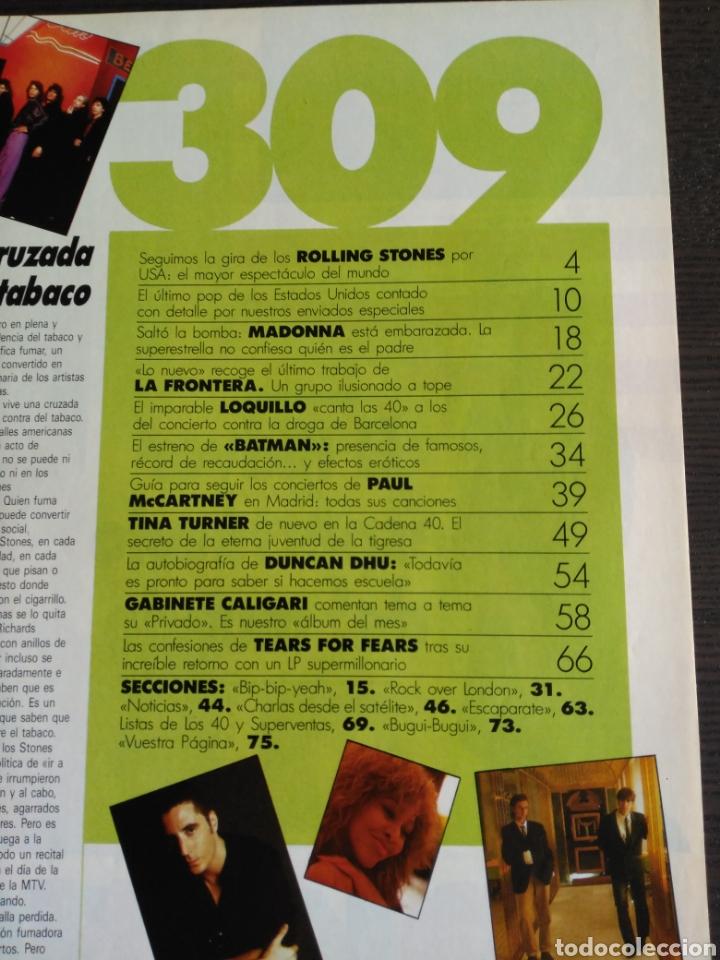 Revistas de música: El Gran Musical 309. Madonna. Tina Turner. The Rolling Stones. - Foto 2 - 144607493
