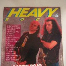 Revistas de música: POPULAR 1 HEAVY ROCK Nº 46, BARON ROJO, TED NUGENT, STEVE VAI, NIGHT RANGER, FURIA (CON POSTER). Lote 144716390