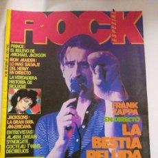 Revistas de música: ROCK ESPEZIAL - Nº 38 - REVISTA DE MUSICA EDITADA - 1984 - CON FASCICULO Nº 22 ENCICLOPEDIA ROCK. Lote 144954846