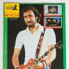 Revistas de música: COLECCION POPULAR 1. ESPECIAL A 17. THE WHO (II). QUADROPHENIA.. Lote 144981974