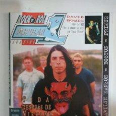 Revistas de música: POPULAR 1 Nº 266 - FOO FIGHTERS, DAVID BOWIE, MARILYN MANSON, BOSTON, PRIMUS, MISFITS, BARRICADA. Lote 145052914