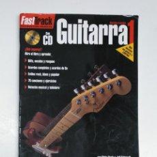 Riviste di musica: FAST TRACK. INSTRUCCION MUSICAL. GUITARRA Nº 1. CON CD. ELECTRICO O ACUSTICA. HAL LEONARD. TDKR13. Lote 145152866
