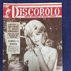 Revistas de música: REVISTA DISCOBOLO NUM 11 SEP 62 AÑO I SANDRA LE BROOCK EDDIE FISHER PAUL ANKA DISCO CRITICA DE EPOCA. Lote 146378166