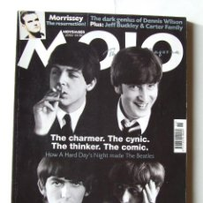 Revistas de música: MOJO 108 BEATLES MORRISEY THE SMITHS BEACH BOYS FOO FIGHTERS . Lote 146492682