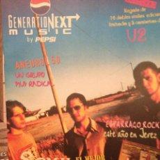 Revistas de música: PEPSI MUSIC 6:ANEUROL 50, SEXY SADIE, BOB DYLAN,LOS ENEMIGOS,NEUROTICS, BLACK CROWES. Lote 146538626