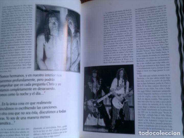 Revistas de música: REVISTA COLECCION IMAGENES DEL ROCK THE BLACK CROWES ILUSTRADO - Foto 2 - 146650106