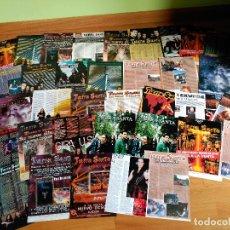 Revistas de música: TIERRA SANTA AVALANCH WARCRY RARO LOTE POSTER + SET REPORTAJES DESDE LOS 90 A 2010. Lote 104432943