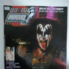 Revistas de música: POPULAR 1 Nº390: KISS 1996-2006, QUEENSRYCHE, LIVING THINGS, AMERICAN MINOR, DRIVE BY TRUCKERS, SEKA. Lote 147481298