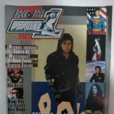 Revistas de música: POPULAR 1 Nº384: RETORNO A LOS 80´S, MICHAEL JACKSON, THE POLICE, WHITESNAKE, VAN HALEN, THE CRAMPS. Lote 147481498
