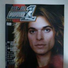 Revistas de música: POPULAR 1 Nº397: DAVID LEE ROTH, BLIND MELON, GOVT MULE, TIM EASTON, THE ANSWER (IMPECABLE). Lote 147482070