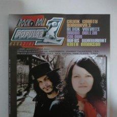 Revistas de música: POPULAR 1 Nº 387: WHITE STRIPES, CRANK COUNTRY, DAREDEVILS, BLACK VELVETS, KEITH EMERSON (IMPECABLE). Lote 147483390