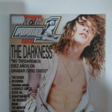 Revistas de música: POPULAR 1 Nº 363: THE DARKNESS, THE DOORS, SEBASTIAN BACH, THE MISSION, IRON MAIDEN (IMPECABLE). Lote 147484838