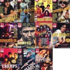 Revistas de música: LOTE REVISTAS RUTA 66 AÑO 1997. Lote 147523314