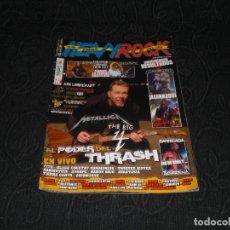 Revistas de música: REVISTA MAGAZINE HEAVY ROCK N 330 TRACH METAL BARRICADA HELLOWEEN VIÑA ROCK MEGADETH HEAVYS. Lote 147634194