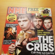 Revistas de música: REVISTA NME 26 JANUARY 2008 (THE CRIBS / BLOOD RED SHOES / PANIC AT THE DISCO / VAMPIRE WEEKEND). Lote 147654834