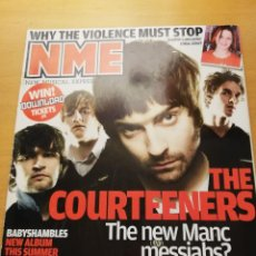 Revistas de música: REVISTA NME 12 APRIL 2008 (THE COURTEENERS / MGMT / THE TING TINGS). Lote 147655062
