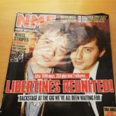 Revistas de música: REVISTA NME 21 APRIL 2007 (LIBERTINES REUNITED). Lote 147655666