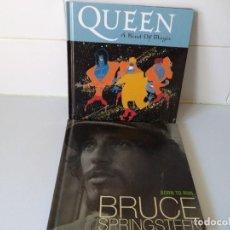Revistas de música: 2 LIBRETOS.QUEEN Y BRUCE SPRINGSTEEN.. Lote 148002118