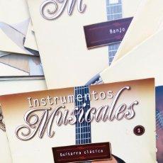 Revistas de música: INSTRUMENTOS MUSICALES SALVAT *** LOTE 51 FASCICULOS DEL 1 AL 52 (FALTA EL NÚMERO2) + 3 TAPAS. Lote 148317474