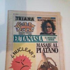 Revistas de música - SAL COMUN N° 18 TRIANA MARINA ROSSELL EUTANASIA NUCLEAR IMAN BOHEMIA ROLLO - 148528090