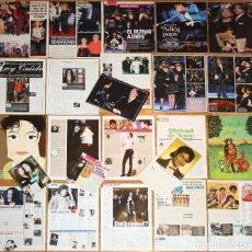 Revistas de música: MICHAEL JACKSON LOTE PRENSA EUROPEAN CLIPPINGS 2000S RARE PHOTOS MAGAZINE ARTICLES LOT. Lote 118262259