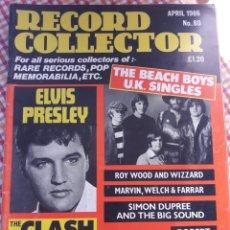 Revistas de música: BEATLES.ELVIS.ROY WOOD.NUM 80. ABRIL 1986.. Lote 149046632