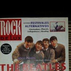 Revistas de música: REVISTA ROCK DE LUX 101 THE BEATLES. Lote 149215760