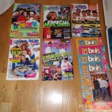 Revistas de música: BEST STREET BOYS REVISTA SUPER POOPY FASCICULUS CON POSTERS GIGANTES. Lote 149406749