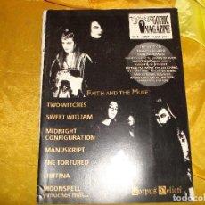 Revistas de música: REVISTA. GOTHIC MAGAZINE. Nº 8. 1997. Lote 219153855
