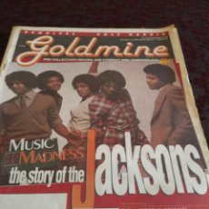 Revistas de música: GOLDMINE : THE JACKSONS ( JACKSON FIVE & MICHAEL JACKSON & JANET JACKSON, ETC). Lote 149895454