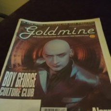 Revistas de música: GOLDMINE : BOY GEORGE + CULTURE CLUB + THE ALARM . Lote 150446086