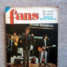 Revistas de música: THE ROLLING STONES: REVISTA FANS-PERFECTO ESTADO-1966 CON SU POSTER CENTRAL. Lote 150788290
