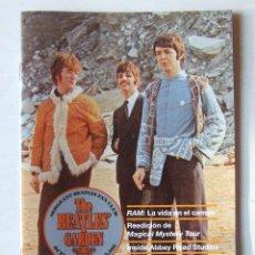 Revistas de música: THE BEATLES' GARDEN 62 2013 MAGICAL MYSTERY TOUR ABBEY ROAD STUDIOS RAM . Lote 157047378