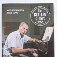 Revistas de música: THE BEATLES' GARDEN 66 2016 GEORGE MARTIN VIDEOS PROMO TV RINGO STARR LIZZIE BRAVO. Lote 260801160
