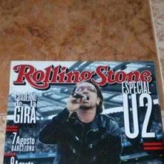 Revistas de música: ESPECIAL U2 ROLLING STONE GIRA ESPAÑOLA 2005,SUPLEMENTO. Lote 151315870