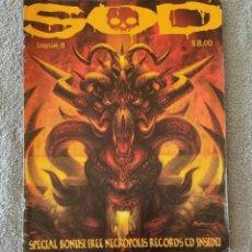 Revistas de música: SOD MAGAZINE Nº 8. Lote 151521106