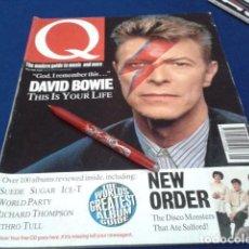 Revistas de música: REVISTA DAVID BOWIE Q ( THE WORLD´S GREATEST ALBUM GUIDE ) MAYO DE 1993 SUEDE SUGAR ICE- T NEW. Lote 151902510