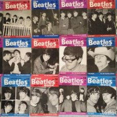 Revistas de música: COLECCIÓN DE 18 REVISTAS ''THE BEATLES MONTHLY BOOK'' - NÚMEROS 4 A 21 (1963-1965). Lote 152061782
