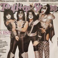 Revistas de música: REVISTA ROLLING STONE ITALIA. KISS. Lote 152124778
