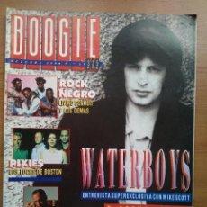 Revistas de música: BOOGIE NUM 33. WATERBOYS, JOHN WATERS, PIXIES, RAMONES, LIVING COLOUR, CHUCK BERRY.. Lote 152145034
