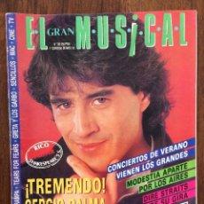 Revistas de música: REVISTA EL GRAN MUSICAL. Nº 363. MAYO 1992. SERGIO DALMA. MODESTIA APARTE. DIRE STRAITS. RAUL ORELLA. Lote 152166166