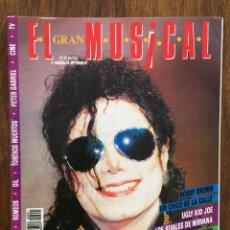 Revistas de música: REVISTA EL GRAN MUSICAL. Nº 371. SEPTIEMBRE 1992. MICHAEL JACKSON NIRVANA ROMEOS UNIÓN BOBBY BROWN. Lote 152166514