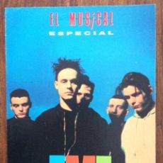 Revistas de música: REVISTA EL GRAN MUSICAL. ESPECIAL EMF Y ROXETTE. 2 PORTADAS.. Lote 152167254