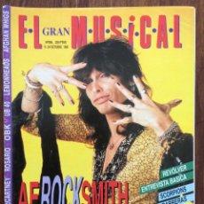 Revistas de música: REVISTA EL GRAN MUSICAL. Nº 396. OCTUBRE 1993. AEROSMITH REVÓLVER SCORPIONS OBK PAUL MCCARTNEY. Lote 152167638