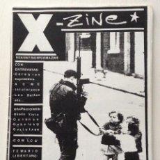 Revistas de música: X ZINE FANZINE 0 BILBAO CEREBROS EXPRIMIDOS ACME INTOLERANCE GOBELAKO GAZTETXEA LOS DALTON. Lote 152365634